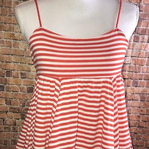 Old Navy Girls size XL 14 Striped Spaghetti Top